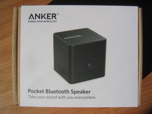 Anker Pocker Bluetooth Lautsprecher Verpackung