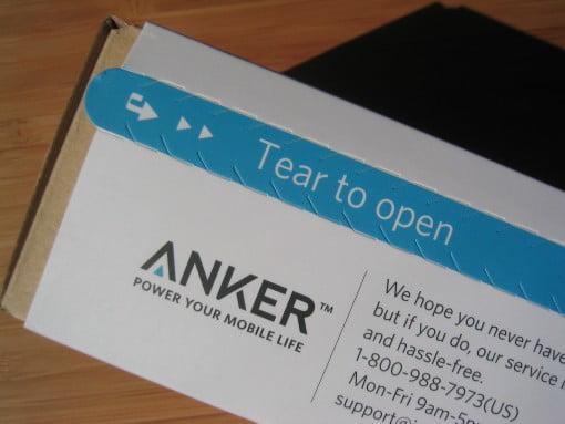 Anker Pocker Bluetooth Lautsprecher Aufreissen