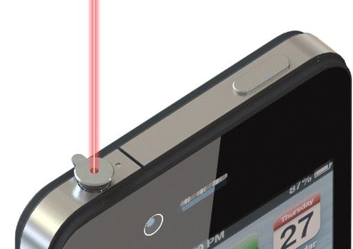 iPin Laser iPhone