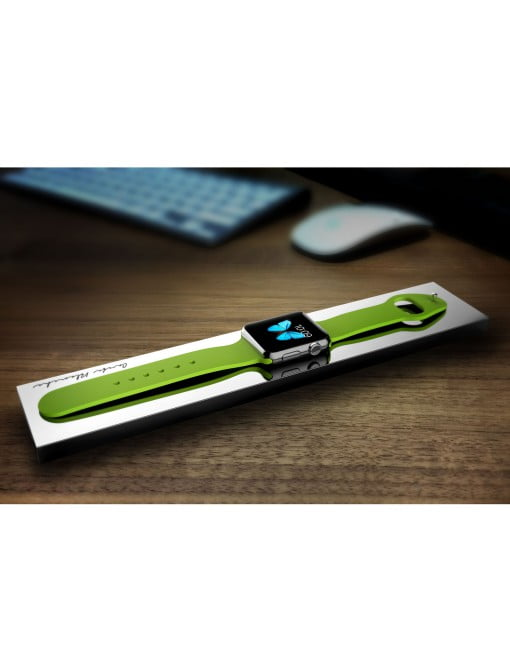 Boostcase Bloc Power Bank Apple Watch green