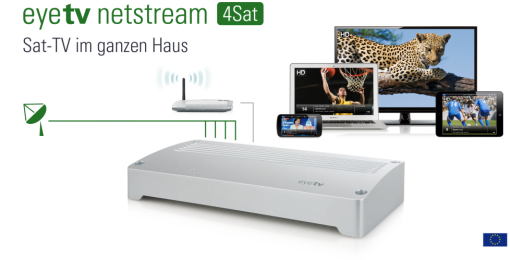 eyeTV netstream 4Sat