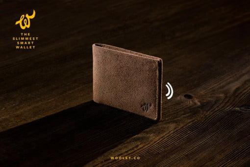 Woolet Bluetooth Portemonnaie
