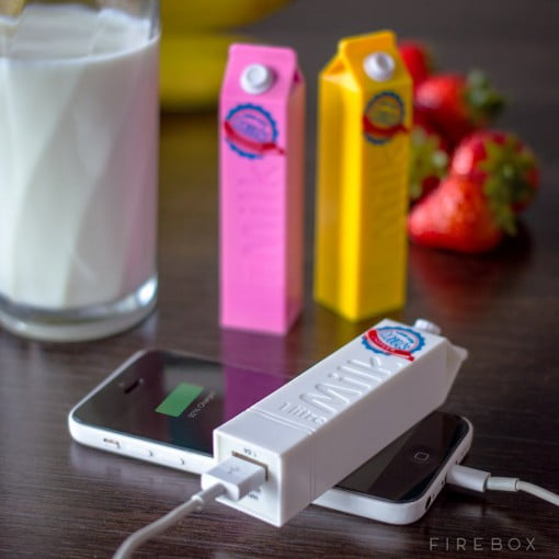 Firebox LONG LIFE MILK PORTABLE CHARGERS iPhone
