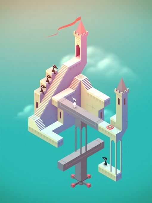 Monument Valley Game Screenshot