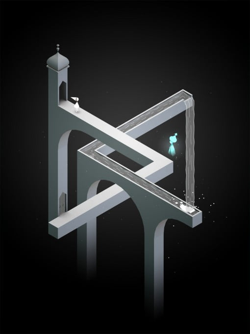 Monument Valley Game dark