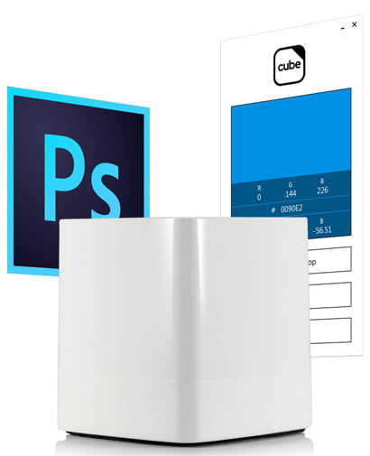 swatchmate Cube Photoshop
