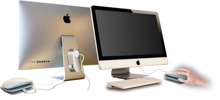 mobee magic hub mehr usb ports f r den imac mac egg. Black Bedroom Furniture Sets. Home Design Ideas