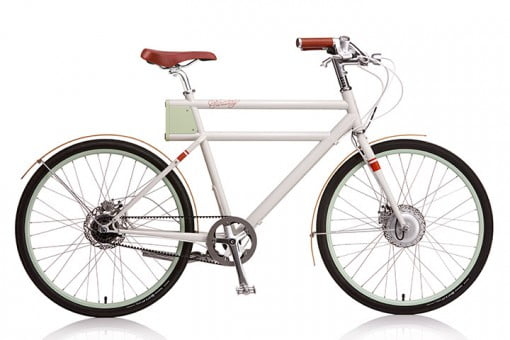 Faraday Bikes Cream