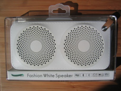 bestbeans Fashion White Speaker