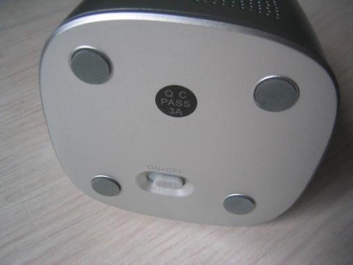 inateck BP-1001 Bluetooth Speaker On