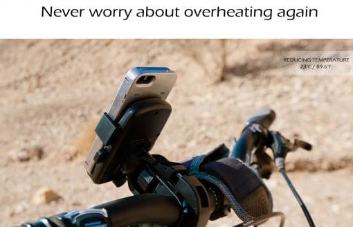 Optimal Thermal iPhone Case Bike