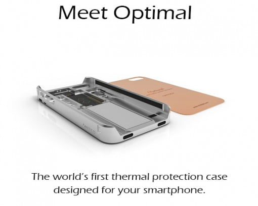 Optimal iPhone Case Indiegogo