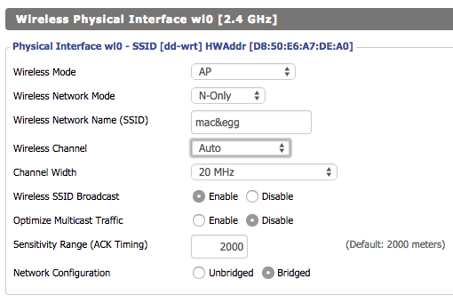 Wireless Interface 0