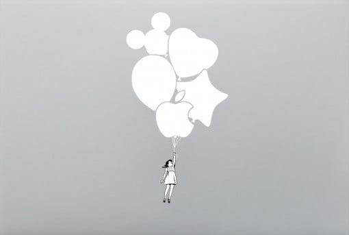 bittenfruit Decal Balloon Girl