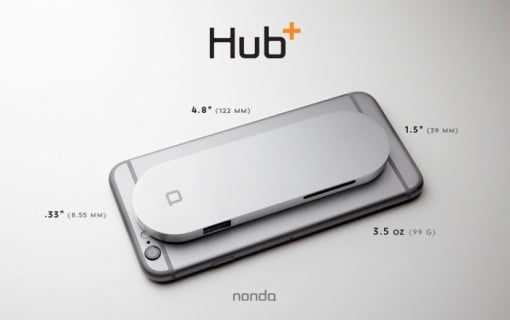 nonda Hub Plus iPhone