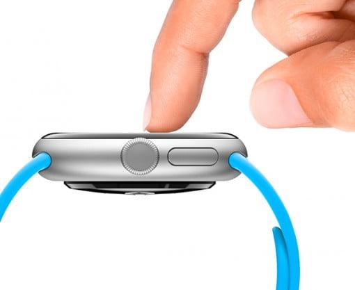 Apple Watch rund Seite