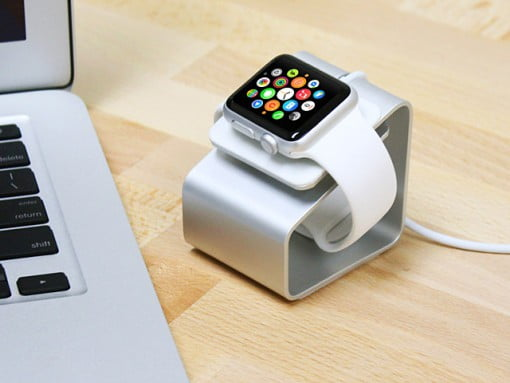 Brando Apple Watch Stand MacBook