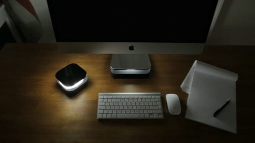 Halo Stand iMac