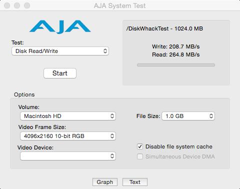 AJA Plextor SSD M5S mit TRIM