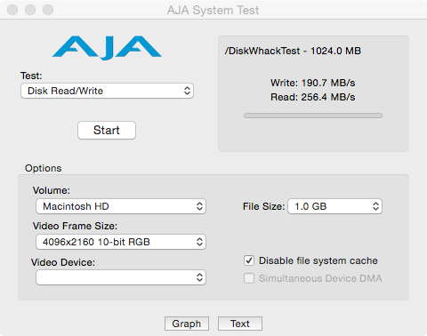 AJA Plextor SSD M5S ohne TRIM
