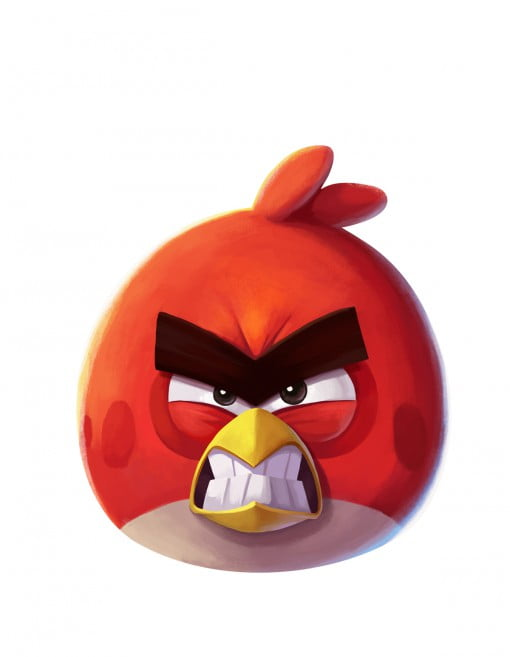 Angry Birds 2 Red character art