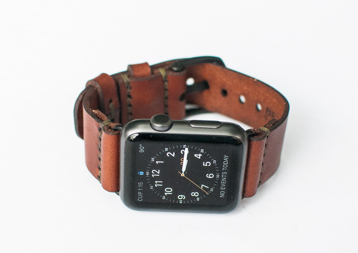 apple watch armbänder leder