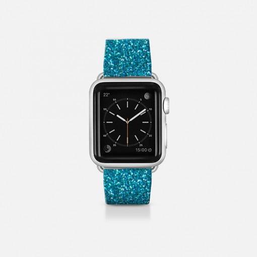 Casetify blue glitter