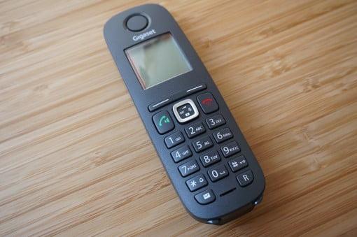 Gigaset A540 CAT IP Telefon Tasten