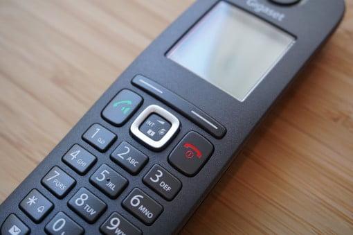 Gigaset A540 CAT IP Telefon Steuerkreuz