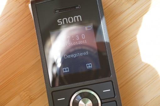 Snom M25 IP DECT Display
