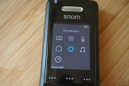 Snom IP DECT M65 Display