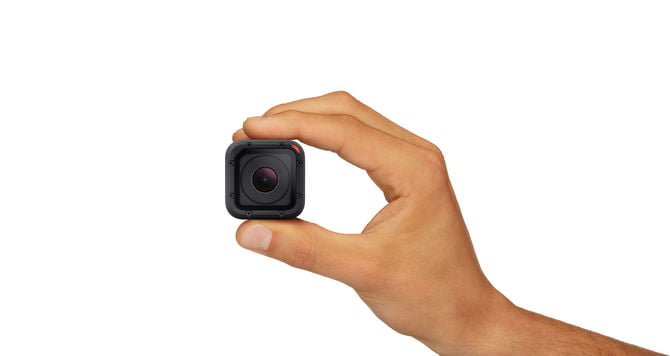 GoPro Hero 4 Session Hand