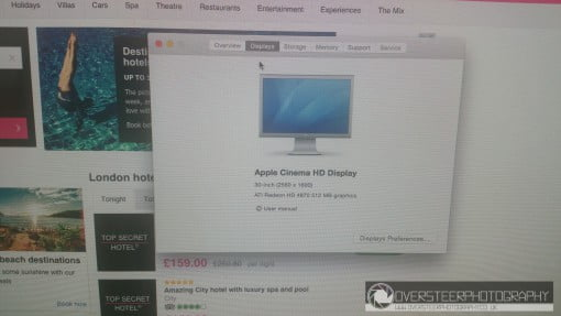 30 Zoll Cinema Display