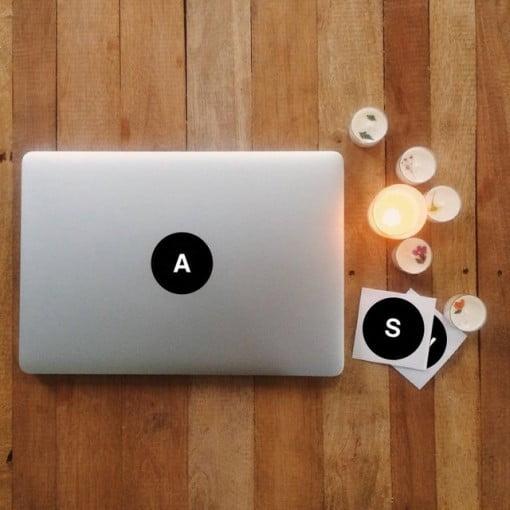 Alphabet Decal MacBook