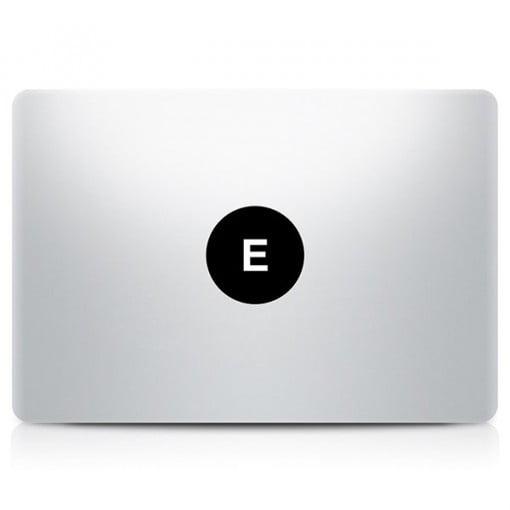 Alphabet Decal MacBook E