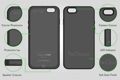 ThinCharge iPhone Case