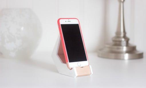 Tilt Smartphone Stand rosa