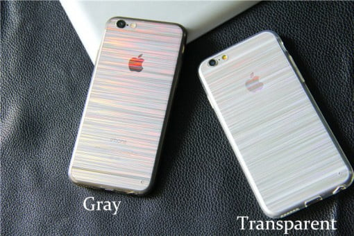 Veason Laser Stripes iPhone Case both