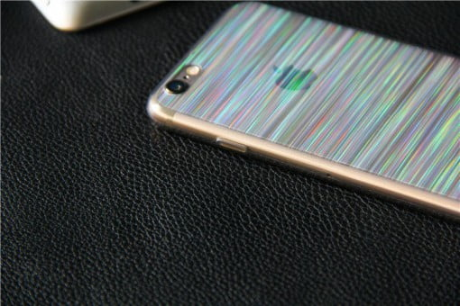 Veason Laser Stripes iPhone Case stripes