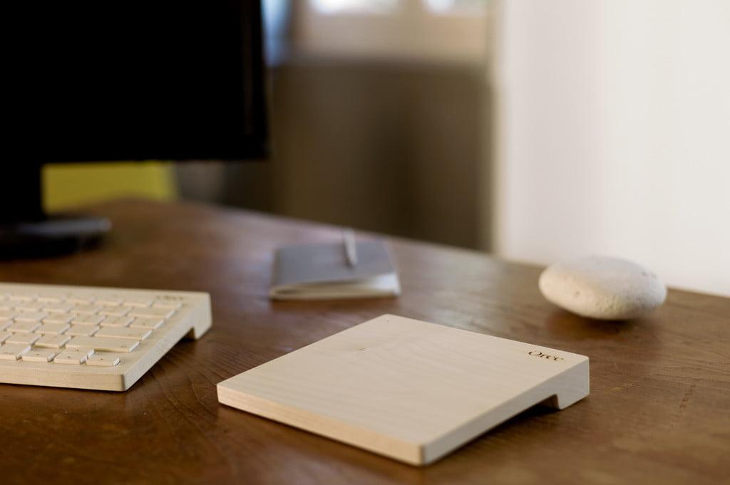 or e touch slab sch nes trackpad komplett aus holz mac egg. Black Bedroom Furniture Sets. Home Design Ideas
