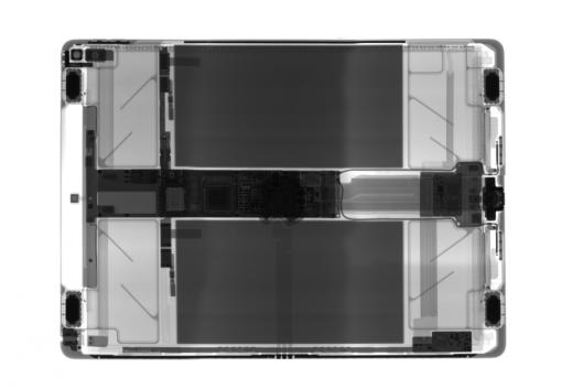 ifixit iPad Pro Röntgen
