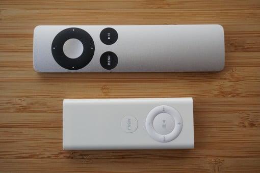 Apple Remote alt und neu