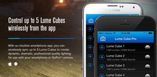 Lume Cube App