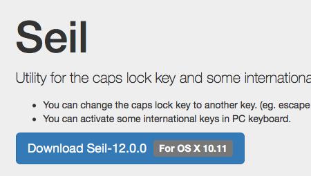 Seil Caps Lock App Festtelltaste