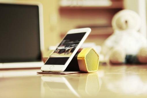 Leatherweight Bluetooth Lautsprecher iPhone