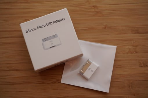 iPhone Micro USB Adapter