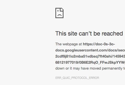 Probleme Google Drive