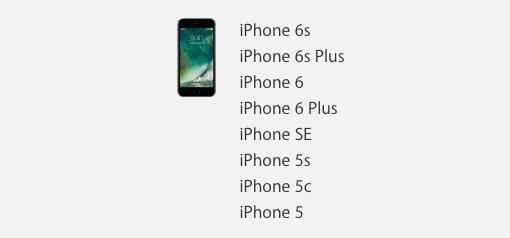 iOS10 iPhone 4S