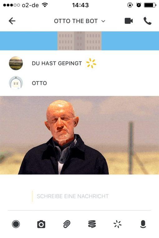 Wire App Aussehen