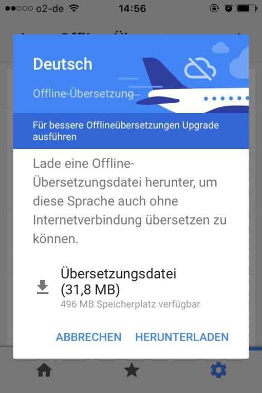 Google Offlinedatei